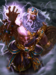 SMITE - Zeus Wrath of Olympus by ChrisBjors