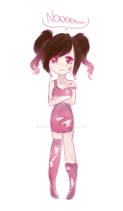Draw yourself in pink - Y U DO THIS? by KyiwtieArt