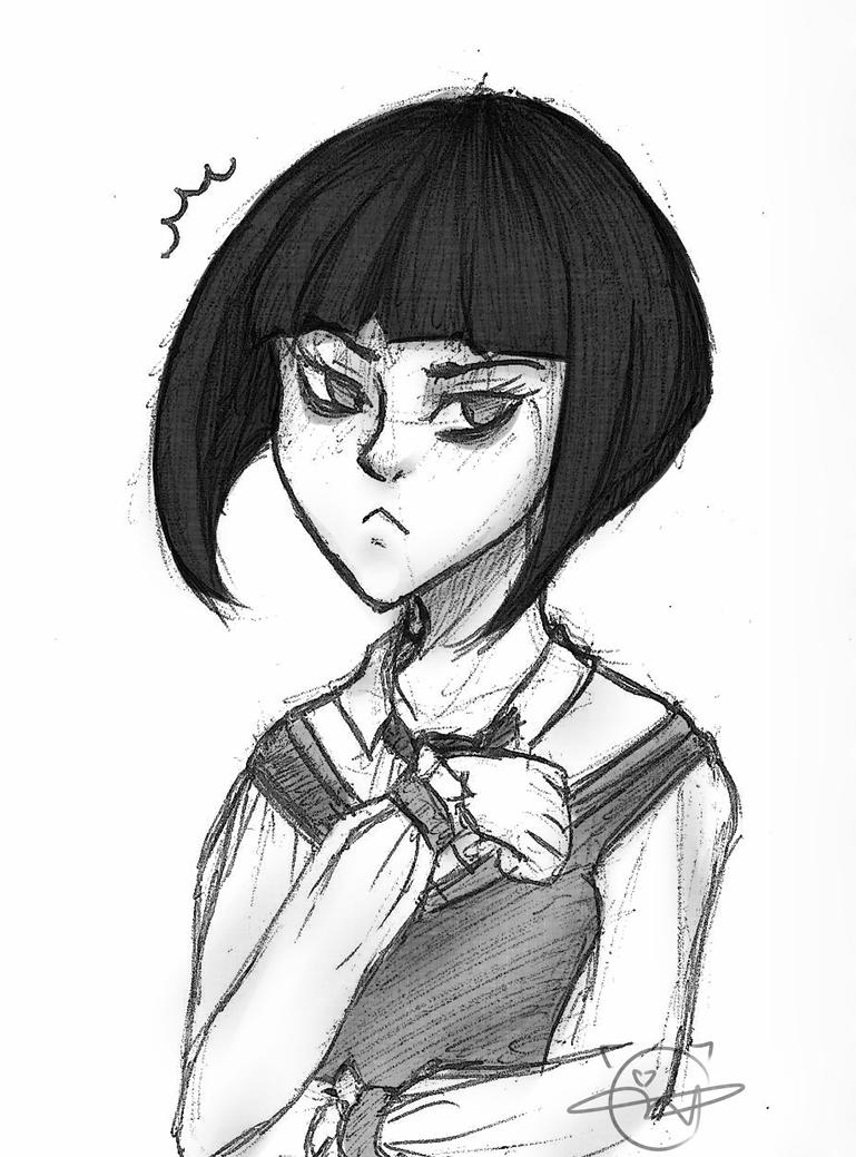 Annoyed Lily by KyiwtieArt