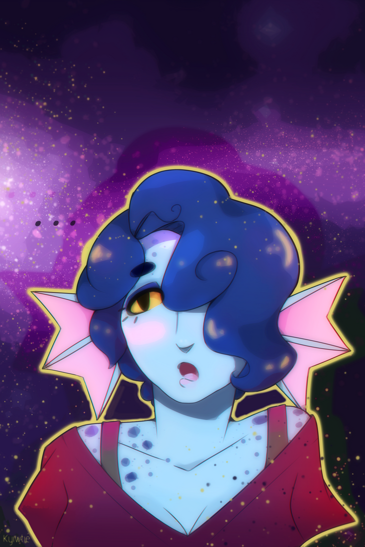 Spaced Out by KyiwtieArt