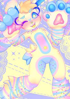 (CE) sprinkle party