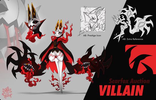 Villain - Halloween Scarfox Design