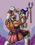 Commission: Sepulcher Vs Temper by Blastweave