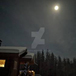 Moon landskape