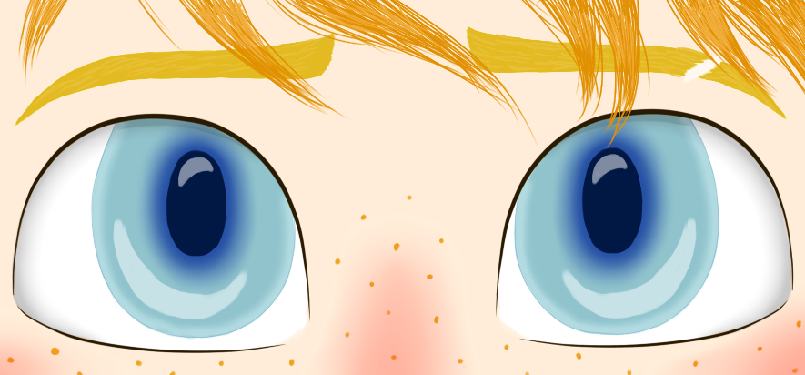 Nett's eyes by LegendFlight