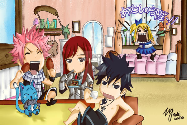 Fairy tail by makix1994 on deviantart - Fille fairy tail ...