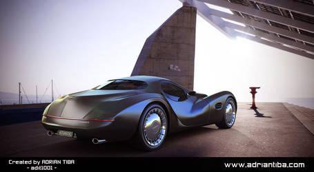 Chrysler Atlantic Concept Back by adit1001