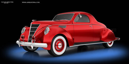 Lincoln Zephyr 1937 01