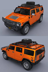 Hummer H2 by adit1001