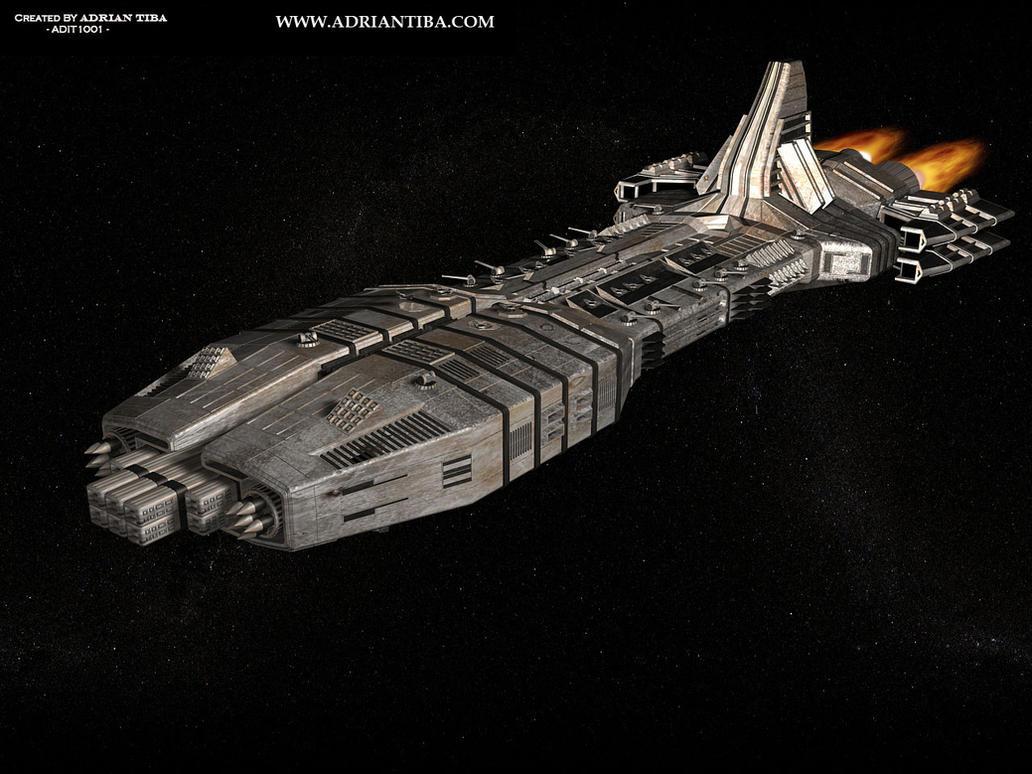 Spaceship by adit1001