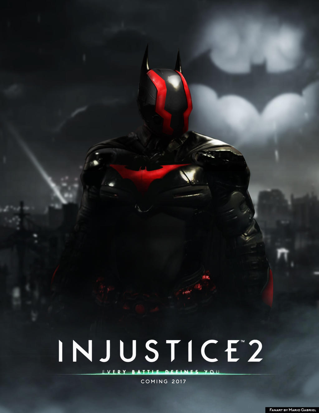 INJUSTICE 2 - Batman Fanart by MarioGagabriel on DeviantArt