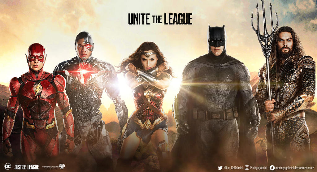 Justice League Movie Wallpaper by MarioGagabriel on DeviantArt