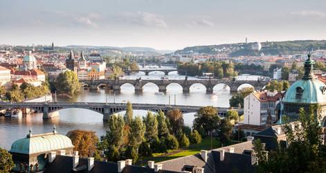 Prague - City of Bridges by DamianMekal