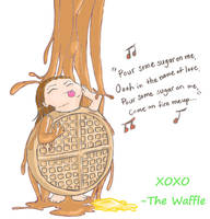 Waffles be sexy-Revenge of the Waffle