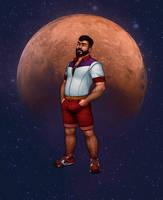 Sailor Mars - Genderbend by LeoLeus