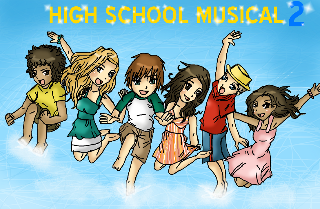 how to draw high school musical characters