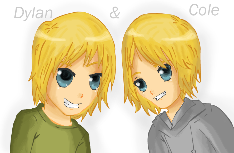 Dylan and Cole Sprouse by Weehe on deviantART