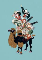 PINK BEARD LEGACY poster02