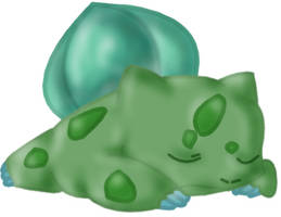 001 - Bulbasaur by PokemonToTheMax