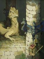 The Basilisk by Dracokiro