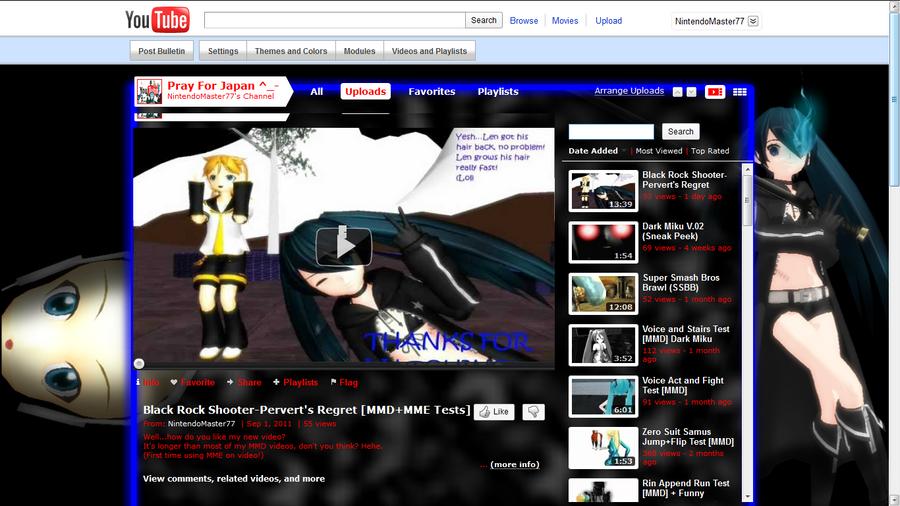 My New YT Background by NintendoSensei77