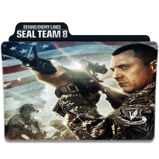 Seal Team Eight Behind Enemy Lines folder icon by Tarekrahal on