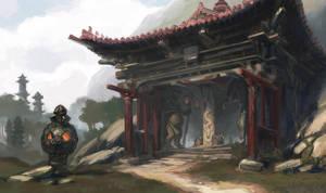 Jungle temple - upper entrance