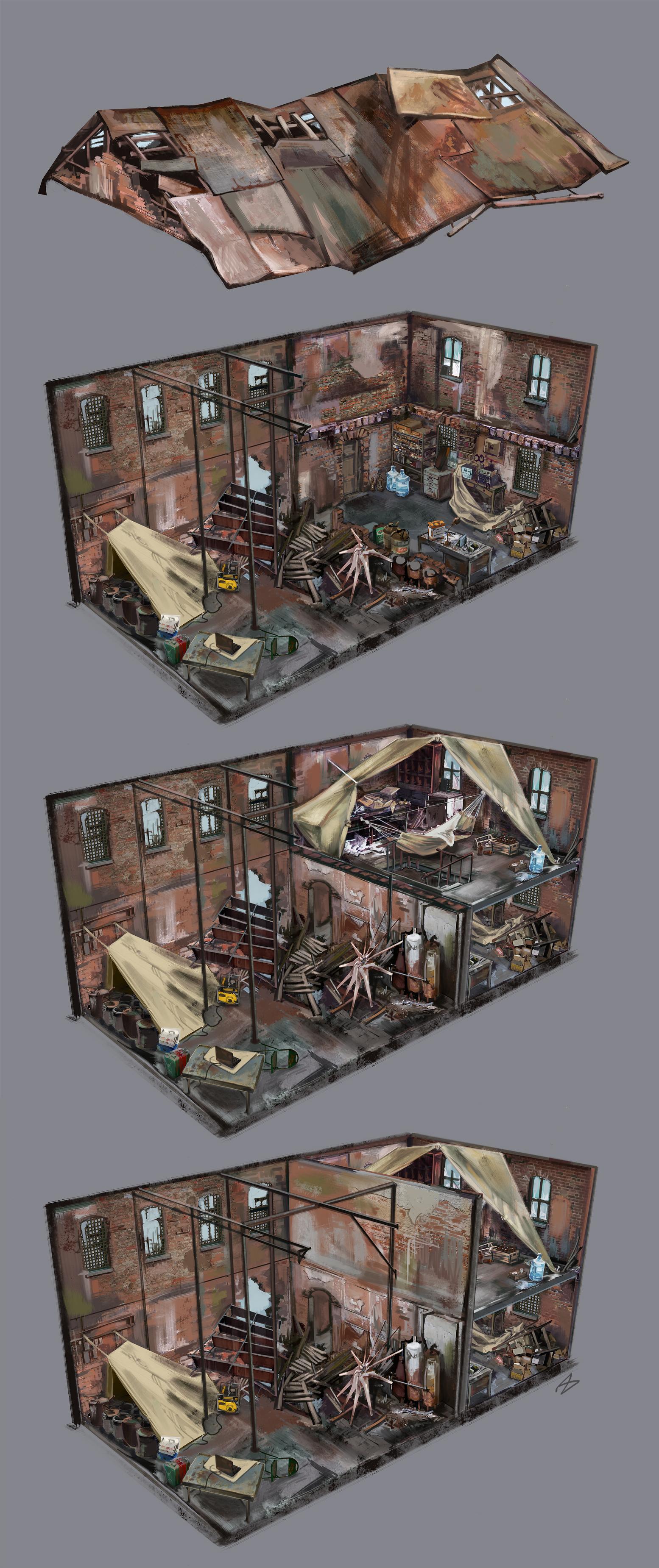 Зональная раскладка склада