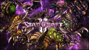 StarCraft II - Zerg Wallpaper by Desellation