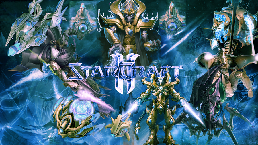 Starcraft ii protoss wallpaper by desellation on deviantart - Starcraft 2 wallpaper art ...