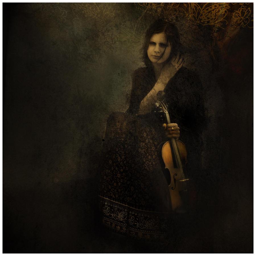 Girl with a violin by Smygol on DeviantArt