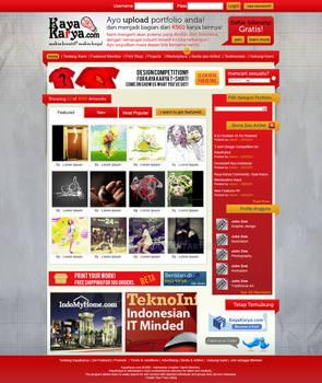 Kaya Karya Landing Page