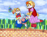 Vanilla Diapering Sonic