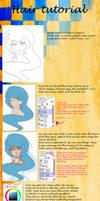 Hair tutorial by varrebeest