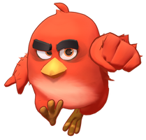 MMD Angry Birds Red Fire Model 1.0 DL by 495557939