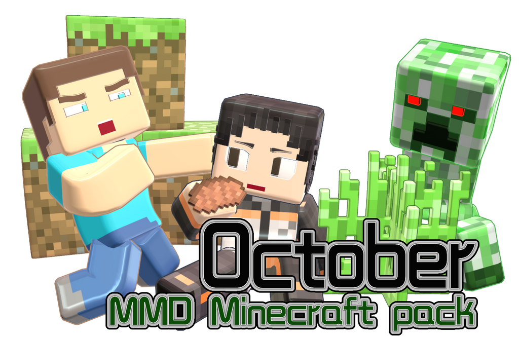 Mmd minecraft smooth steve preview6 creeper by 495557939 on deviantart - Minecraft creeper and steve ...