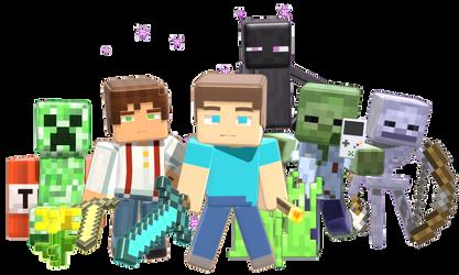 MMD Minecraft Smooth Steve 1.0 release DL