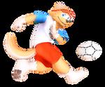 MMD FIFA 2018 Zabivaka 3D Preview
