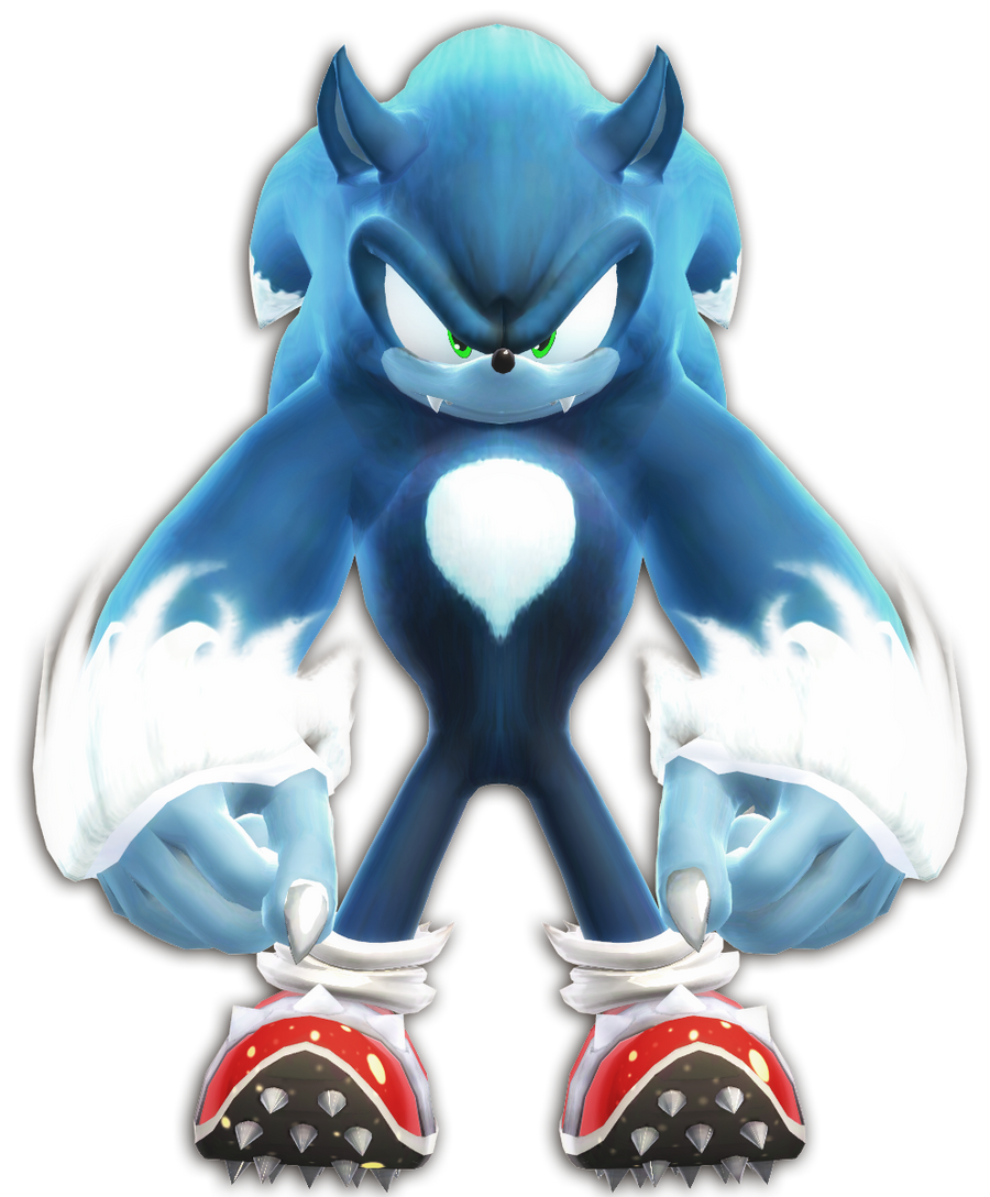 MMD Sonic The Werehog ... Super Sonic And Super Shadow And Super Silver Toys