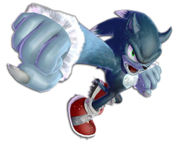 MMD Sonic The Werehog 1.7.1 DL by 495557939