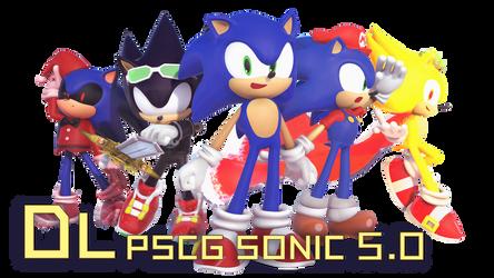 MMD PSCG Sonic v5.0 DL by 495557939