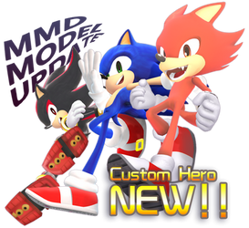 MMD SonicForces Aibo (Buddy)(Avatar) 1.0 by 495557939