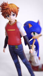 MMD Sonic X Chris by 495557939