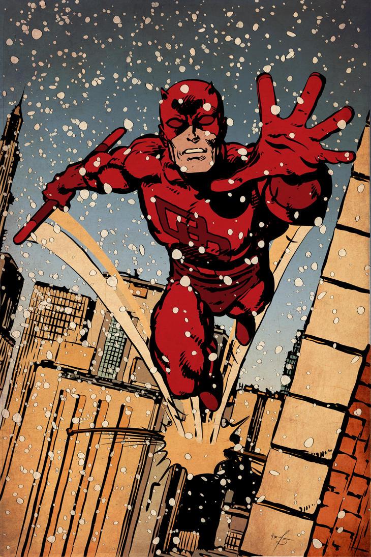 Daredevil . First Snow by sergefoglio