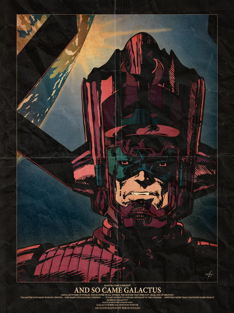 And so came Galactus by sergefoglio