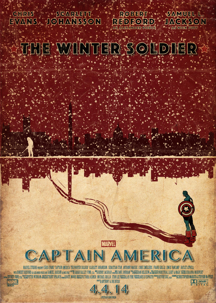The Winter Soldier by sergefoglio