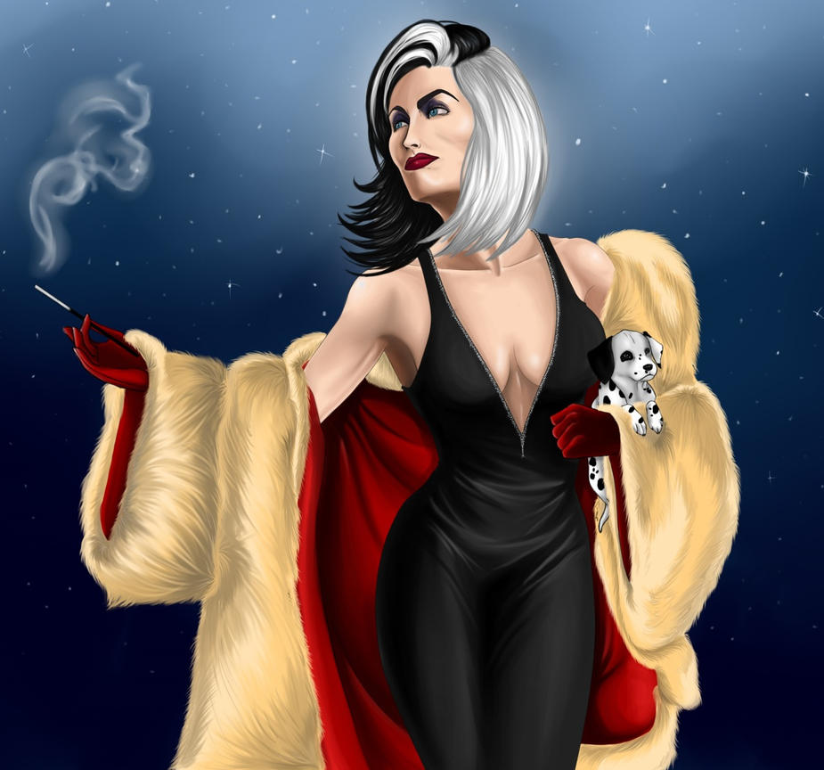 Lucifer Once Upon A Time: Cruella DeVil (Once Upon A Time) By AnnettaSassi On DeviantArt
