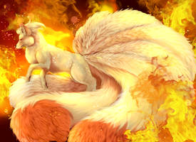 Ninetales by AnnettaSassi
