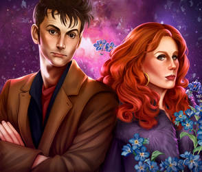 Donna and the Doctor by AnnettaSassi