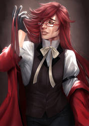 Grell Sutcliffe by AnnettaSassi